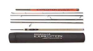 Спиннинг Kosadaka Expedition 6S-Dual 2.10/2.40м 3-17г