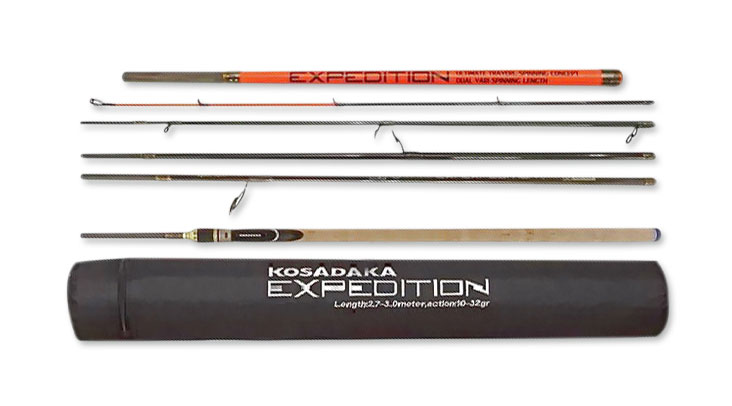 Спиннинг Kosadaka Expedition 6S-Dual 2.70/3.00м 15-45г