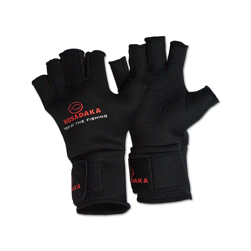 Перчатки неопреновые Kosadaka Fishing gloves-17 разм. XXL