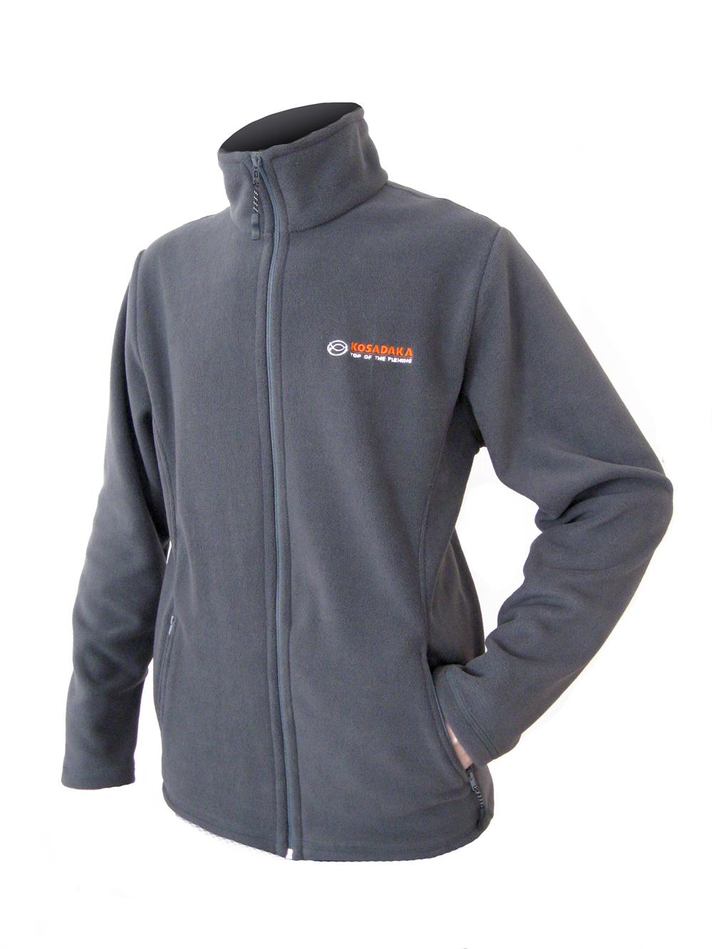 Куртка флисовая Kosadaka JF02 серая L/48-50