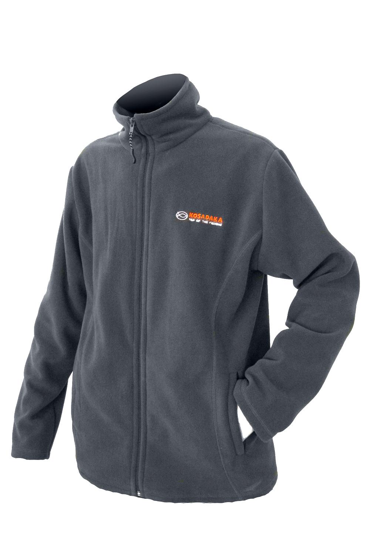 Куртка флисовая Kosadaka JF03 серая L/48-50