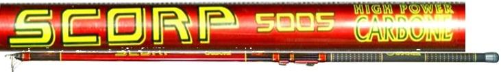 Телескопическое удилище Kosadaka SCORP Bolognese 5000