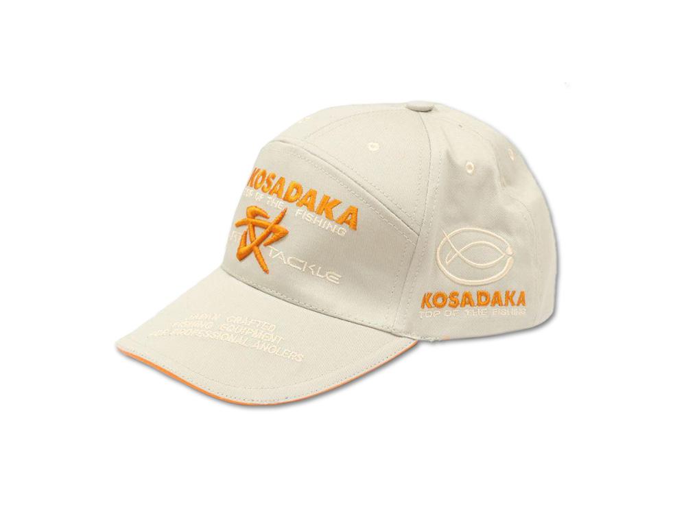 Бейсболка Kosadaka Smart Tackle джинса бежевая