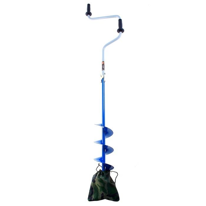 Ледобур NERO-150 L(шнека)-0.5м, L(транс.)-0.88м, L(бурения)-1.1м, m-2.5кг