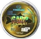 Леска Kosadaka CARP SPECIALIST 100 м коричневая 0,20 мм Тест: 3,97 кг