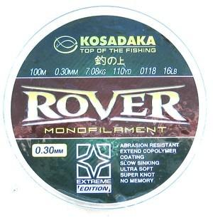 Леска Kosadaka ROVER 100 м/0,28 мм Тест: 6,24 кг