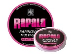 Леска плетеная Sufix RAPINOVA-X MULTI GAME 100M #0.18/6LB/PINK 0,06 мм