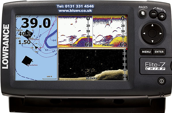 Эхолот Lowrance Elite-7 CHIRP