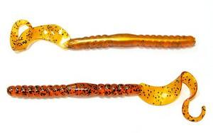 "Червь Lunker City Hydro Tail Worm 4\"" #030"