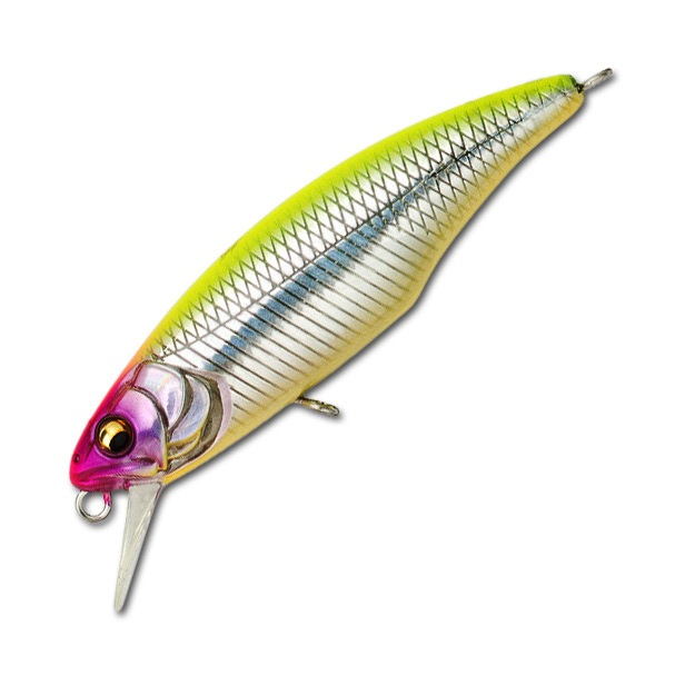 Воблер Megabass Great Hunting Minnow 48F вес 2,7  гр цвет GGTea