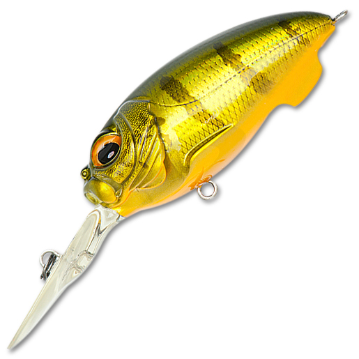 Воблер Megabass MR-X Cyclone 55,5F вес 14 гр цвет GGP