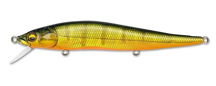 Воблер Megabass Vision Oneten Hi-Float 110F вес 14,0  гр цвет GG Kasumi Tiger