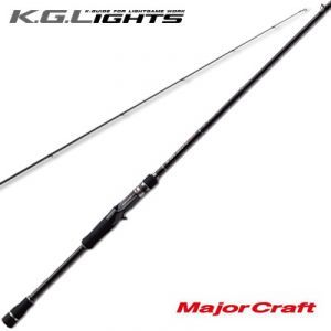 Удилище кастинговое Major Craft K.G.Lights KGL-702H/B