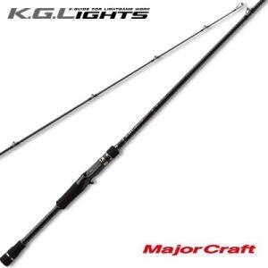 Удилище кастинговое Major Craft K.G.Lights KGL-762M/B