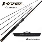 Удилище кастинговое Graphiteleader Vigore Compatto GVICMC-654M