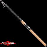 "Удилище телеск. ""Mikado"" ALMAZ TELE CARP 390 ( 30 - 60 гр.) Carbon (WAA195-390)"