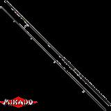 "Спиннинг штекерный ""Mikado""  MLT HEAVY CATFISH 300 ( 80-400гр.) Carbon (WA926-300)"