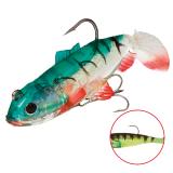 """Виброхвост """"Crystal Fish"""" WXH-63- 6см/ 60 оснащенный (1уп.-2) (WXH-63-6CM-60)"""