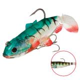"""Виброхвост """"Crystal Fish"""" WXH-63- 6см/ 87 оснащенный (1уп.-2) (WXH-63-6CM-87)"""