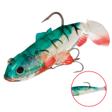 """Виброхвост """"Crystal Fish"""" WXH-63- 6см/113 оснащенный (1уп.-2) (WXH-63-6CM-113)"""