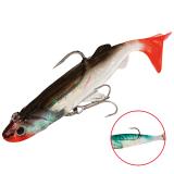 """Виброхвост """"Crystal Fish"""" WXH-64- 6см/113 оснащенный (1уп.-2) (WXH-64-6CM-113)"""