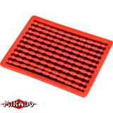 """AMC-11500-05 Стопперы для бойлов """"Mikado"""" жесткие, красные (уп.-2 х 100) (AMC-11500-05)"""