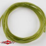 "AMC-11691 Трубка ""Mikado"" противозапут., тонущая  1,0 x 2,0мм х 2м, зелёная (AMC-11691)"