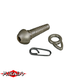 """AMC-9057-07 Клипса для грузил """"Mikado"""" (уп.- 5наб.) (AMC-9057-07)"""
