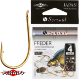 "*Крючки "" Mikado - SENSUAL - FEEDER 9109 ""  (HS-FEEDER9109)"