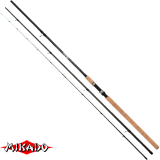 "Удилище штекерн.""Mikado"" ULTRAVIOLET Heavy Feeder 390 ( до 120гр.) { 3 хлыстика } Carbon MX-9 (W-A-319 390)"