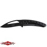 """Арт.AMN-306 Нож складной """"Mikado"""" черный (AMN-306)"""