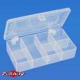 "Арт.UABM-011 Коробка рыболова ""Mikado"" ( 13,7 х 7,6 х 2,9 см ) (UABM-011)"