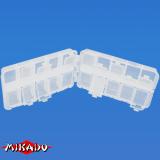 "Арт.UABM-013 Коробка рыболова ""Mikado"" ( 16,2 х 9,6 х 4,2 см ) (UABM-013)"