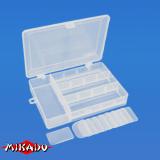 "Арт.UABM-022 Коробка рыболова ""Mikado"" ( 18,9 х 13,4 х 3,7 см ) (ABM-022)"