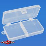 "Арт.UABM-027 Коробка рыболова ""Mikado"" ( 13,3 х 6,8 х 2,5 см ) (UABM-027)"