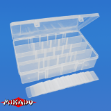 "Арт.UABM-315 Коробка рыболова ""Mikado"" ( 35,5 х 22 х 8 см ) (ABM-315)"