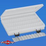 "Арт.UAC-E001 Коробка рыболова ""Mikado"" ( 25 х 18 х 3,8 см ) (UAC-E001)"