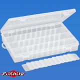 "Арт.UAC-E002 Коробка рыболова ""Mikado"" ( 27,5 х 18 х 4,3 см ) (UAC-E002)"