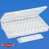 "Арт.UAC-E004 Коробка рыболова ""Mikado"" ( 35,5 х 22 х 4,7 см ) (UAC-E004)"