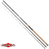 "Удилище штекерн.""Mikado"" ULTRAVIOLET Light Feeder 390 ( до 90гр.) { 5 хлыстиков } Carbon IMX-9+ (W-A-318 390)"