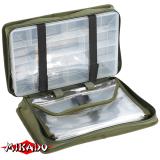 """Арт.UWI-372504 Сумка для рыб. принадлежностей """"Mikado"""" с 1-м боксом (37 x 25 x 9,5 cm) (UWI-372504)"""