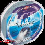 """Леска """"Mikado"""" Fine Line Ice 0,08 (30м) - 0,95 кг (ZJD 008)"""