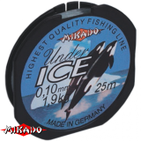 """Леска """"Mikado"""" Under Ice 0,14 (25m) - 2,90 кг (ZJA 014)"""