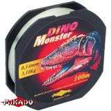 "Леска ""Mikado"" DINO MONSTER 0,14 (100м) - 3,10 кг (ZDG 014)"