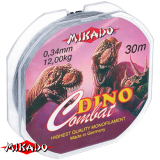"""Леска """"Mikado"""" DINO COMBAT 0,10 (30м) - 2,00 кг (ZZC 010)"""