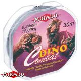 """Леска """"Mikado"""" DINO COMBAT 0,12 (30м) - 2,60 кг (ZZC 012)"""