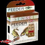 "Леска ""Mikado"" SENSEI FEEDER 0,22 (150м) - 6,60 кг (ZSF 022)"