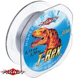 """Леска """"Mikado"""" T- REX 0,16 (30м) - 3,50 кг (ZYC 016)"""