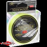 """Плетеный шнур """" Mikado """" NIHONTO OCTA BRAID FLUO 0,16 (150м) - 12,90кг (Z24F-016)"""
