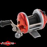 """Катушка - мультипликатор (зимняя) """"Mikado""""  MiniTroll MT 1000-02 RED (KD3801-02)"""